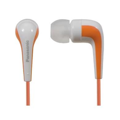 Panasonic RP-HJE140 In The Ear Headphone Orange Price in India