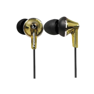 Panasonic RP-HJE190 In The Ear Headphone Gold Price in India