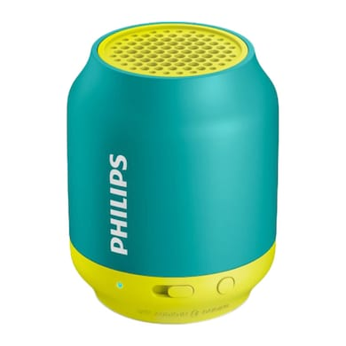 Philips BT50 Wireless Portable Bluetooth Speaker Green and Yellow Price in India