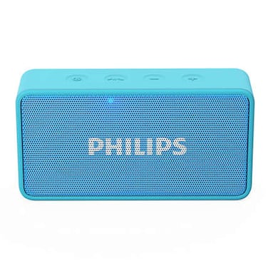 Philips BT64 Bluetooth Speaker Blue images, Buy Philips BT64 Bluetooth Speaker Blue online