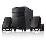 Buy Philips MMS2550F Wired Multimedia Speaker (Black, 2.1 Channel) Online