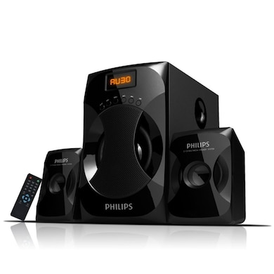 Philips MMS4040F Multimedia Speakers (Black, 2.1 Channel) Price in India