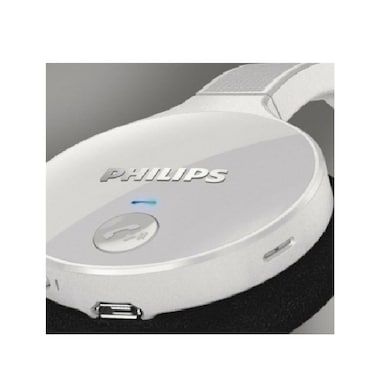 Philips SHB4000 Bluetooth Headset White Price in India