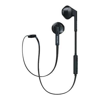 Philips SHB5250 Bluetooth Headset Black Price in India