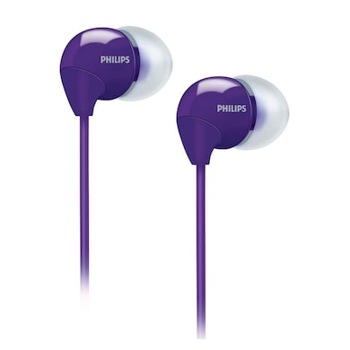 Philips SHE 3590 In Ear Headphones Purple Price in India