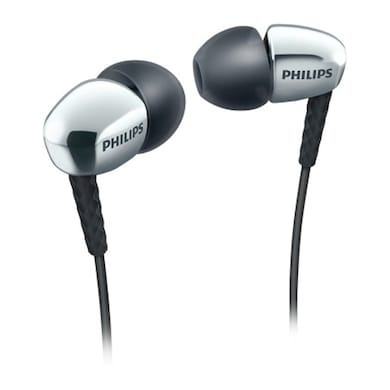 Philips SHE 3900SL In Ear Headphones Silver Price in India