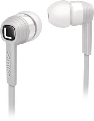 Philips SHE7050WT CitiScape In-the-ear Headphone White Price in India