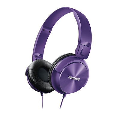 Philips SHL3060 Stereo Dynamic Wired Headphone Purple Price in India