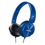 Buy Philips SHL3060 Stereo Dynamic Wired Headphone Blue Online