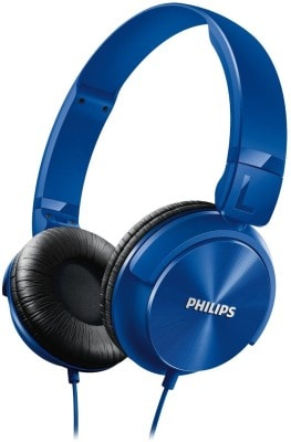 Philips SHL3060 Stereo Dynamic Wired Headphone Blue Price in India