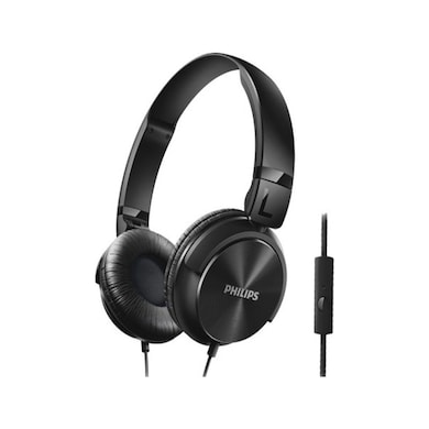 Philips SHL3195BK Dynamic Wired Headphones Black Price in India