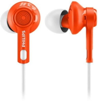 Philips SHQ2300 In-The-Ear Wired Headphone Orange Price in India