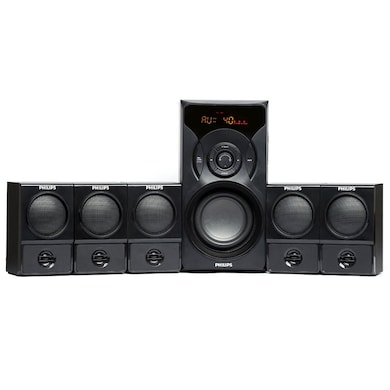 Philips SPA 6700B Cannon BT Home Theater System Black Price in India