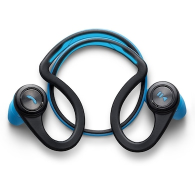 Plantronics BackBeat Fit Wireless Bluetooth Stereo Headset Blue Price in India