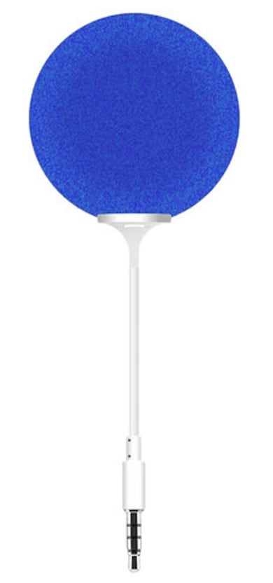 Portronics Music Bubble Aux Speaker Blue Price in India