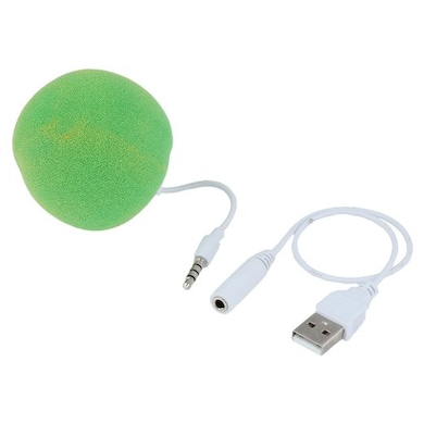 Portronics Music Bubble Aux Speaker Green Price in India