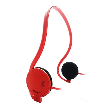 Portronics Oye Sports Headphones Red Price in India