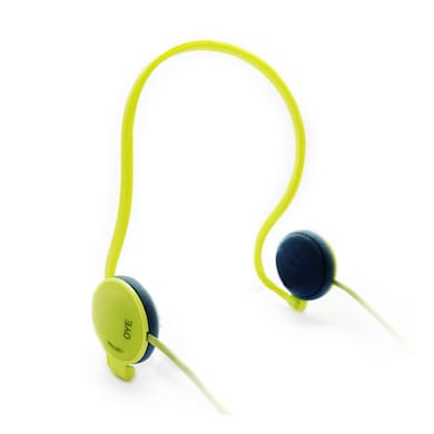 Portronics Oye Sports Headphones Yellow Price in India