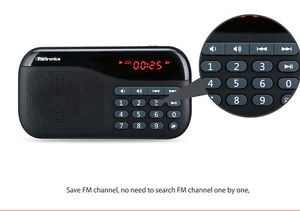 Portronics Plugs Portable Speaker Black Price in India