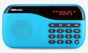 Portronics Plugs Portable Speaker Blue Price in India