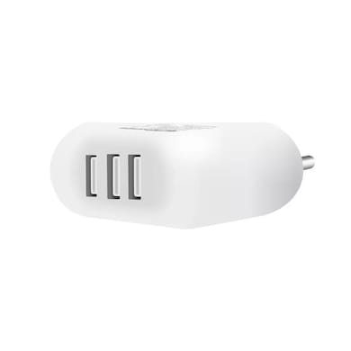 Portronics POR 543 3.4 Amp Mobile Charger White Price in India