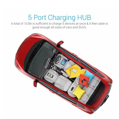 Portronics POR-761 Car Charger White Price in India