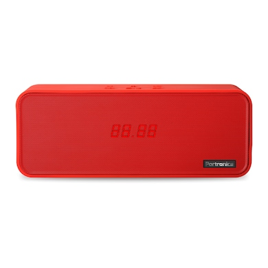 Portronics Sublime-2 Bluetooth Speaker with FM & NFC Red Price in India