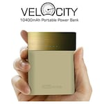 Buy Portronics Velocity 10400 mAh Power Bank Gold Online
