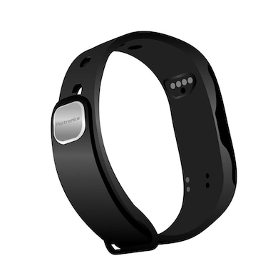 Portronics Yogg Smart Wrist Band Black Price in India