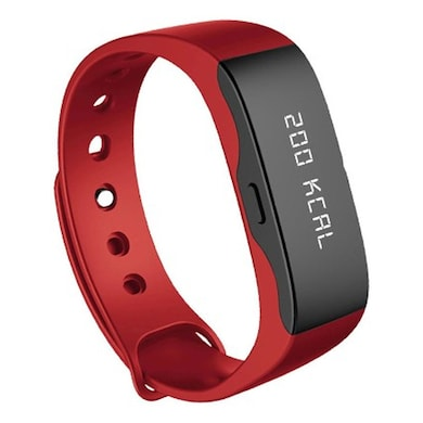 Portronics Yogg Smart Wrist Band Red Price in India