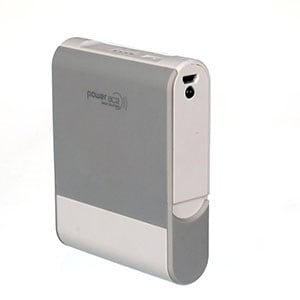 Power Ace PRP 10400M Power Bank 10400 mAh White and Grey