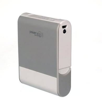 Power Ace PRP 10400M Power Bank 10400 mAh White and Grey images, Buy Power Ace PRP 10400M Power Bank 10400 mAh White and Grey online at price Rs. 1,022