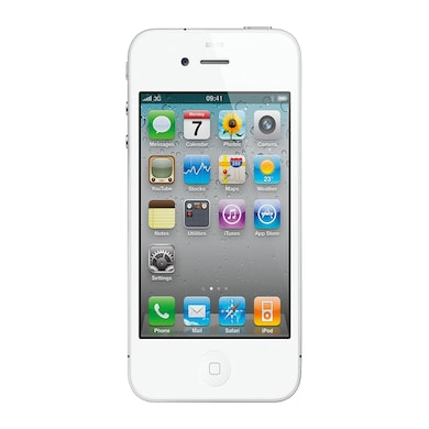 Pre-Owned Apple iPhone 4 Excellent Condition (White, 512MB RAM) Price in India