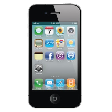 Pre-Owned Apple iPhone 4 Good Condition (Black, 512MB RAM) Price in India