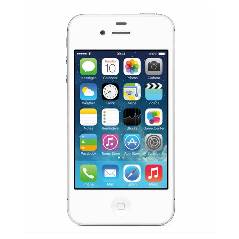 Pre-Owned Apple iPhone 4s White, 4 GB
