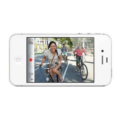 Pre-Owned Apple iPhone 4S Good Condition (White, 512MB RAM) Price in India