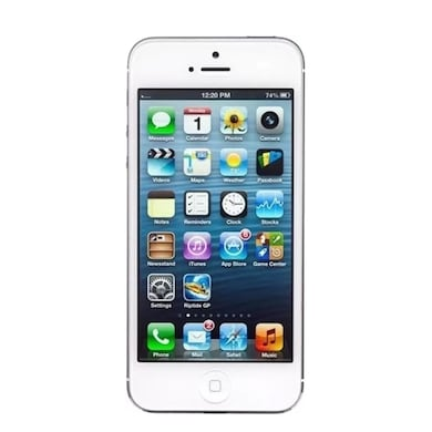 Refurbished Apple iPhone 5 (White and Silver, 1GB RAM, 16GB) Price in India