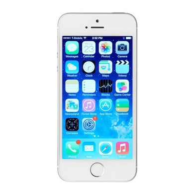Refurbished Apple iPhone 5s Fingerprint sensor not working, 64 GB (Silver, 1GB RAM, 64GB) Price in India