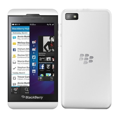 Pre-Owned Blackberry Z10 Good Condition (White, 2GB RAM, 16GB) Price in India
