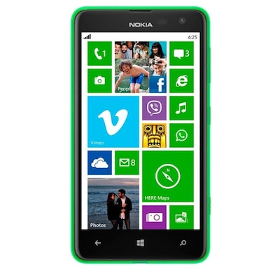Pre-Owned Nokia Lumia 625 (Green, 512MB RAM) Price in India
