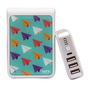 Quirk Tech QT1001 QuirkBot Power Bank 10400 mAh White