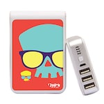 Buy Quirk Tech QT1008 QuirkBot Power Bank 10400 mAh White Online