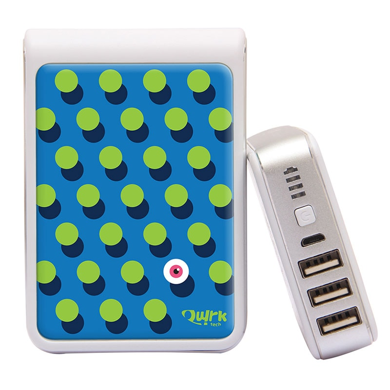 Buy Quirk Tech QT1015 QuirkBot Power Bank 10400 mAh White online