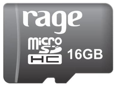 Rage 16 GB Class 10 MicroSDHC Memory Card 16 GB Price in India