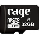 Buy Rage 32 GB Class 10 MicroSDHC Card Memory 32 GB Online