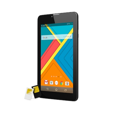 RDP Gravity G716 3G + Wi-Fi + Voice Calling Tablet Black,8GB Price in India