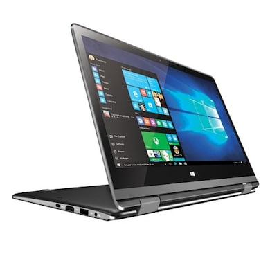 RDP ThinBook 1110 11.6 Inch 2 in 1 Laptop (Intel Quad Core/2GB/32GB/Win 10/Touch) Black Price in India
