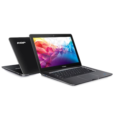 RDP ThinBook 1430a 14.1 Inch Laptop (Intel Quad Core/2GB/32GB/DOS) Black images, Buy RDP ThinBook 1430a 14.1 Inch Laptop (Intel Quad Core/2GB/32GB/DOS) Black online at price Rs. 11,999