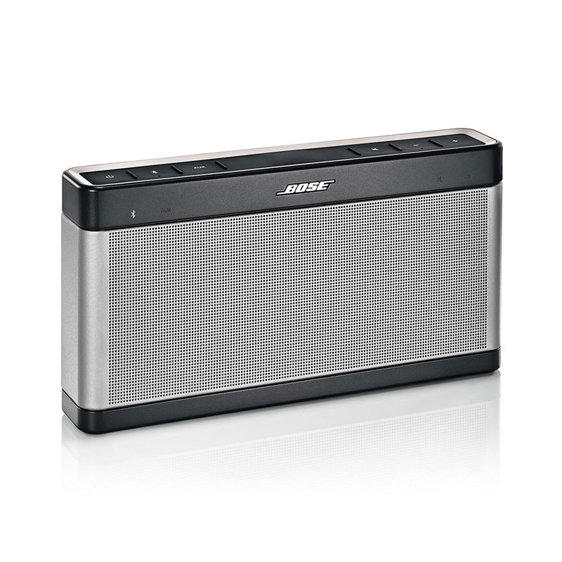 reboxed bose soundlink iii bluetooth speaker grey trim price in india buy reboxed bose. Black Bedroom Furniture Sets. Home Design Ideas