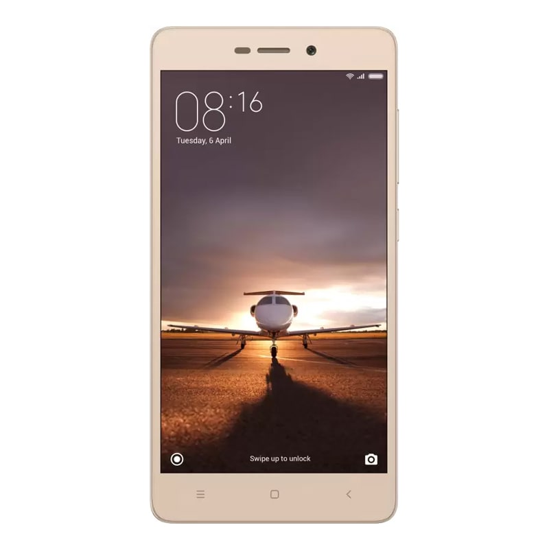Redmi 3S Prime (3 GB RAM, 32 GB) + Data Cable (Combo Offer) Gold
